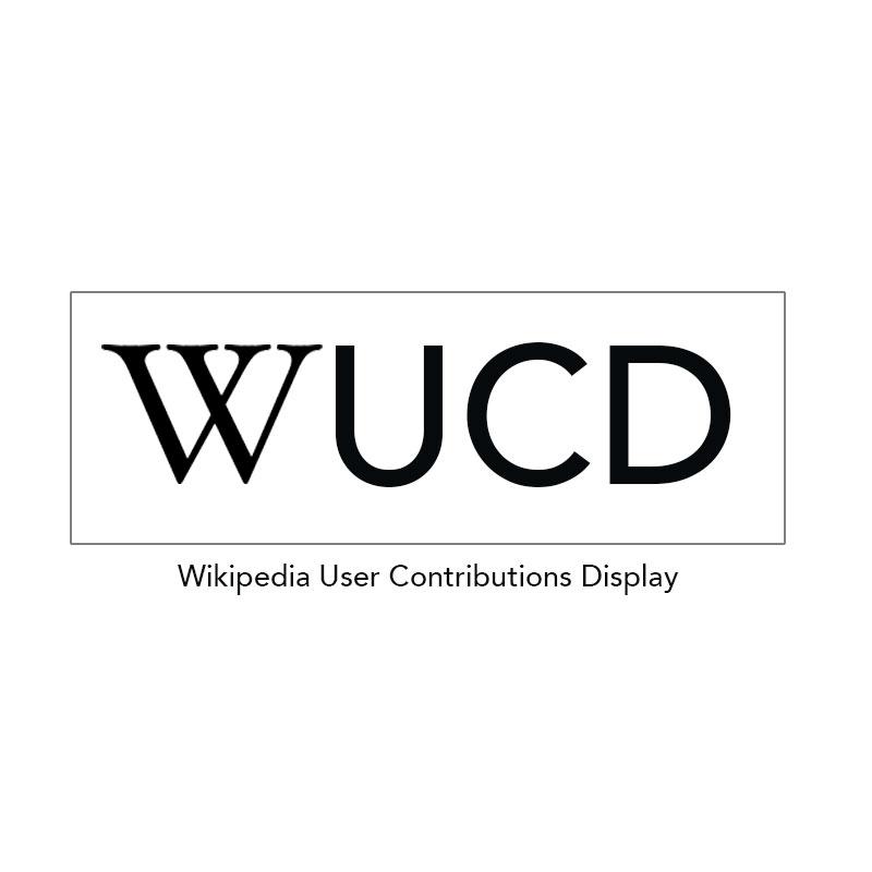 Wikipedia User Contributions Display WP plugin